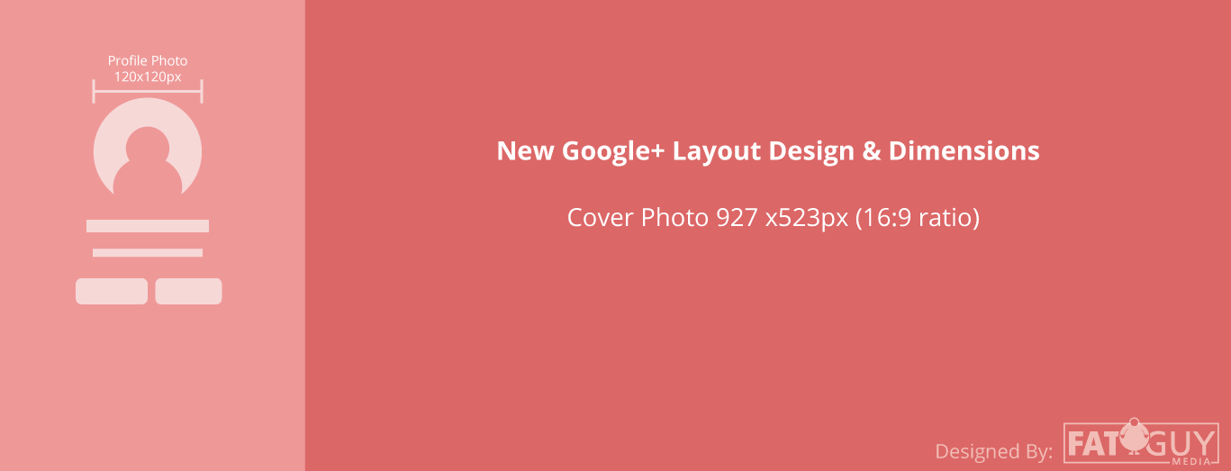 New Google+ Cover Photo Dimensions
