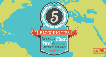 Blogging Tips for Writing the Best Content Online! @FatGuyMedia
