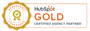 Hubspot Gold Badge Banner