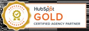 Hubspot Gold Badge Banner