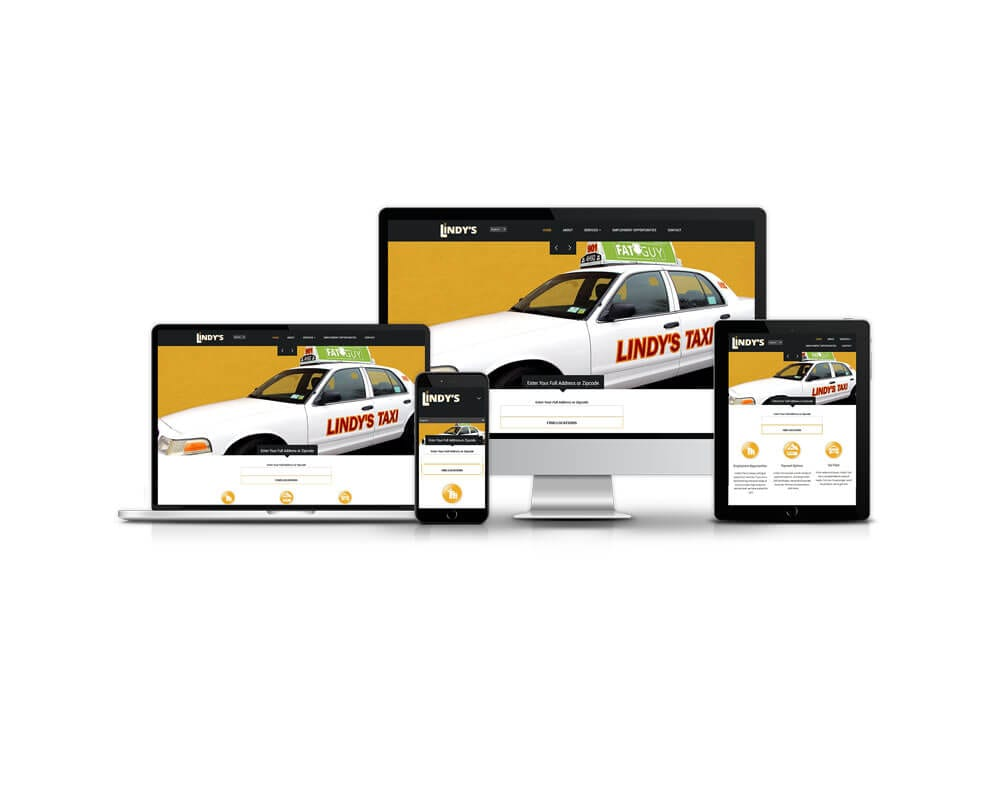 Long Island Taxi Company Web Site Re-Design