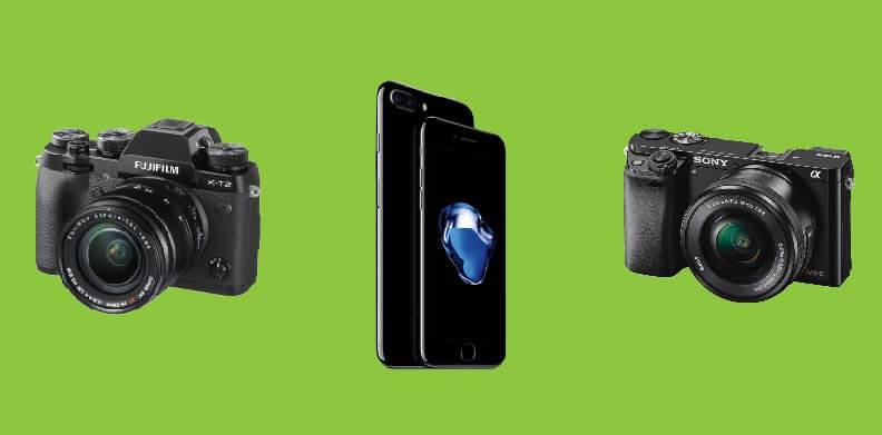 dslr smartphone compact camera