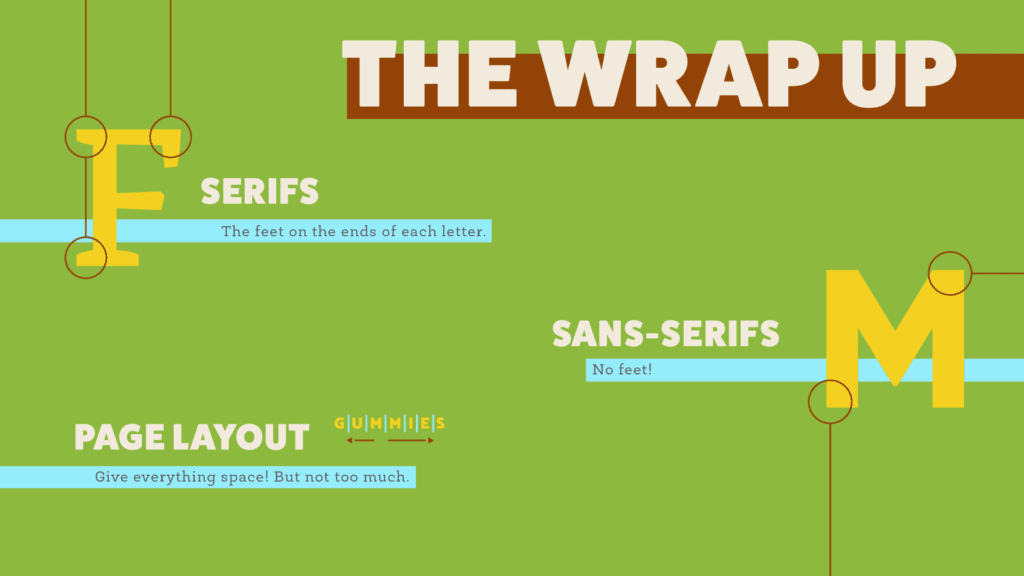 what is a typeface - the wrap up