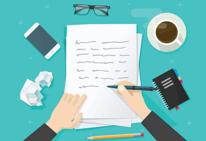 design a website content writing