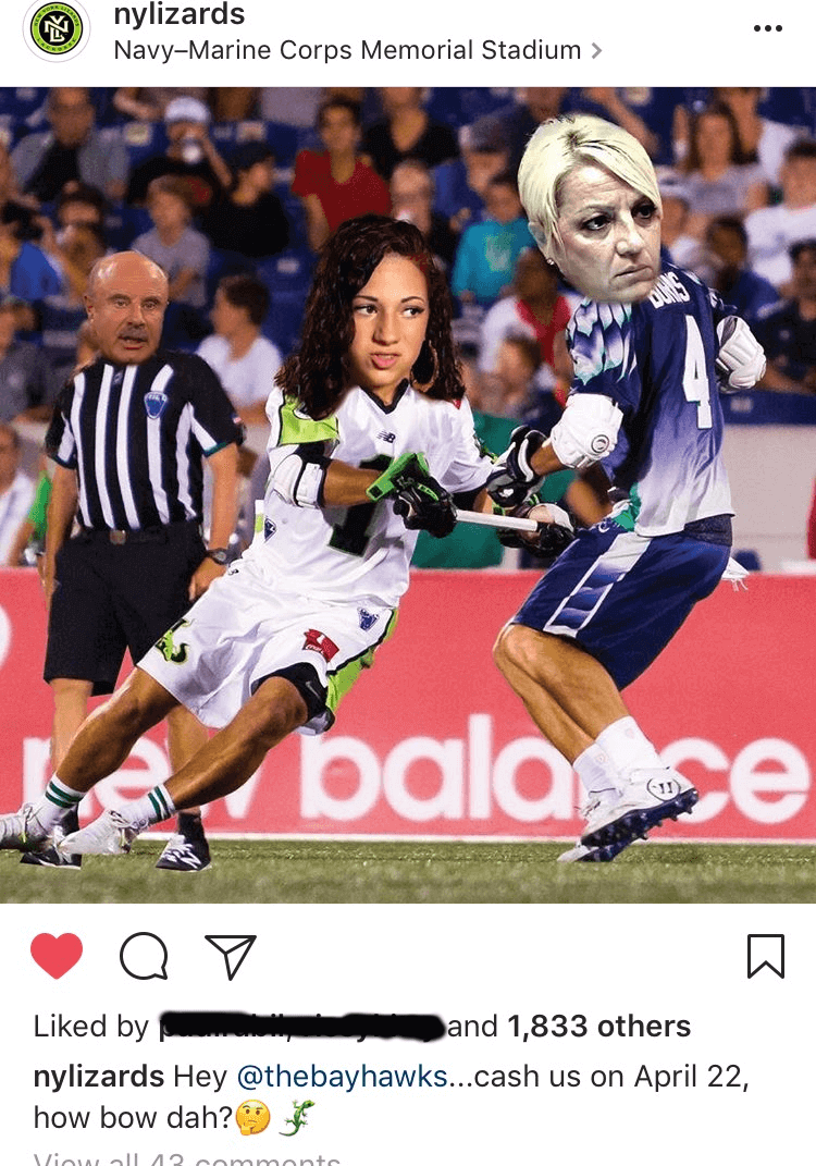 instagram memes new york lizards