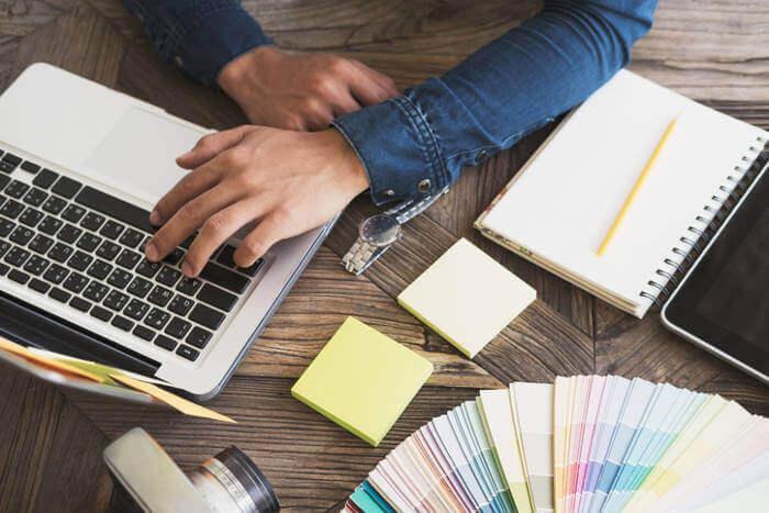 web design trends illustration