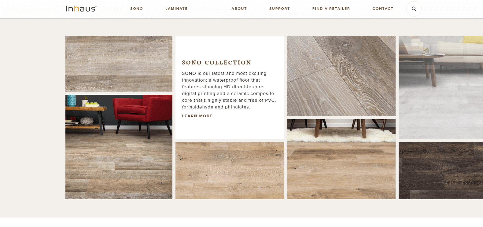 web design inspiration inhaus