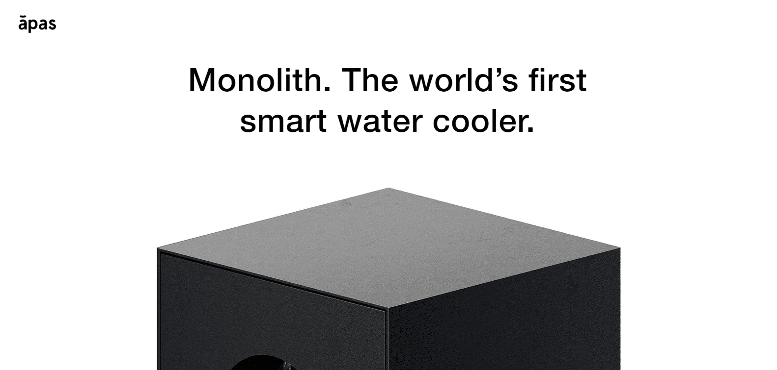 web design inspiration monolith