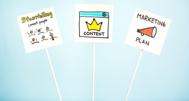 what is a thank you page content marketing